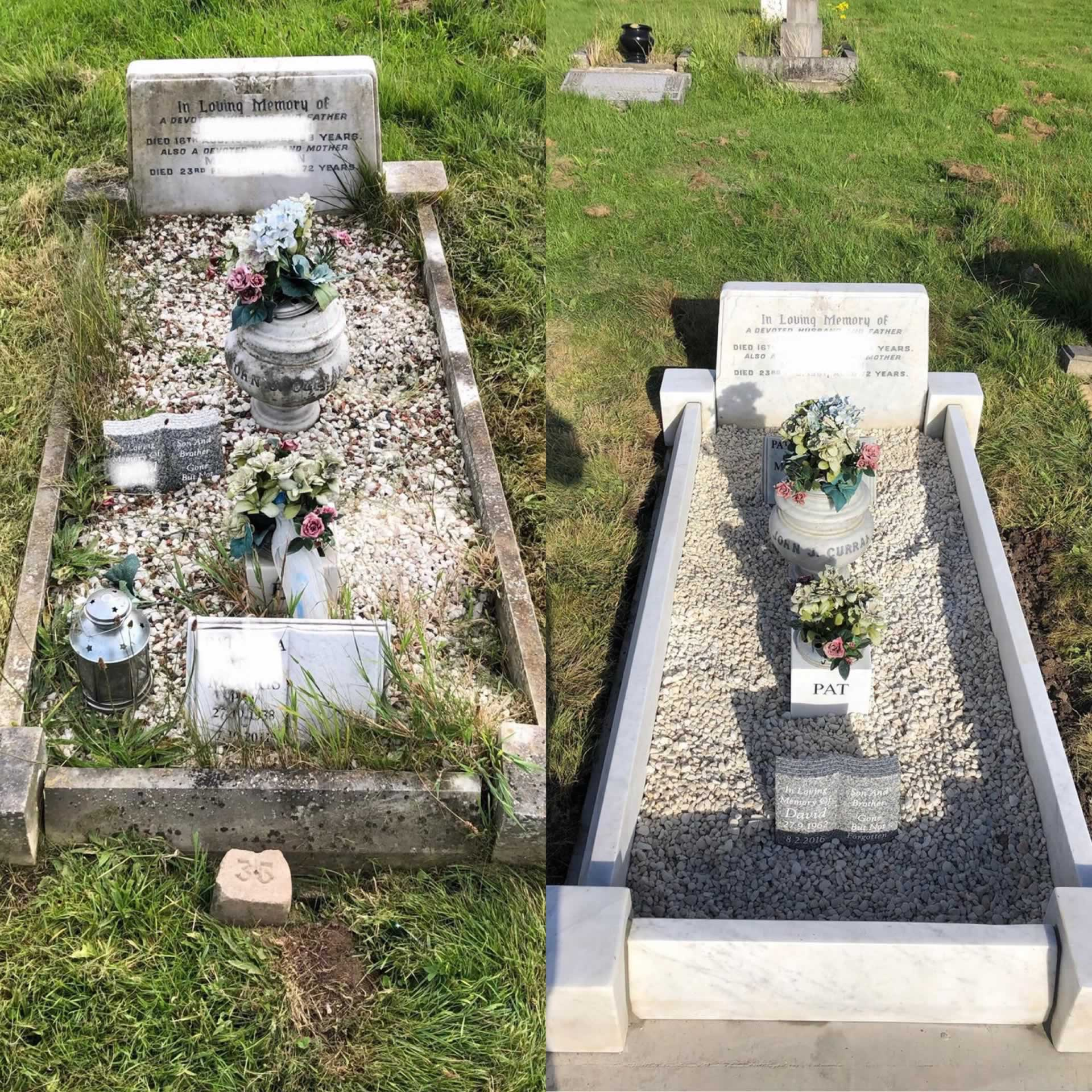 SJB Memorials and Grave Care North West Uk